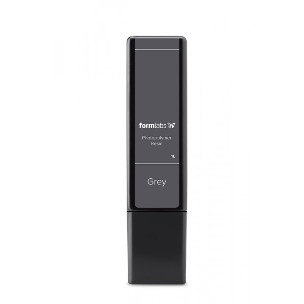 Formlabs - Grey Resin Cartridge (1 L)  for Form 2, Form 3 & Form 3L
