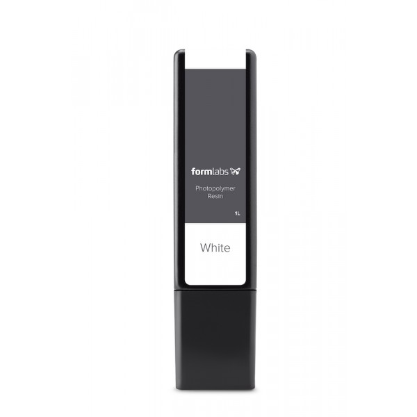 Formlabs - White Resin Cartridge (1 L) for Form 2, Form 3 & Form 3L