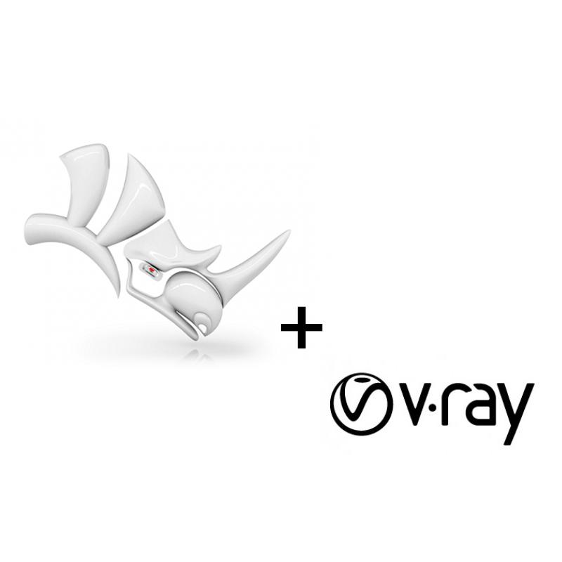 V-Ray Next for Rhino + Rhino v6 for Windows Bundle